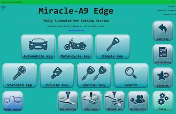 Download - 'MIRACLE' key cutting machine